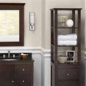 Curio Cabinet In Bathroom Ronbow Collection Linen Tower 672020 Vnc2072 Bath