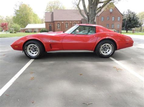 Sell Used 1975 Chevy Corvette L82 4 Speed In Tuscaloosa Alabama United States 1975 Corvette Stingray L82 4 Speed For Sale Photos Technical Specifications Description
