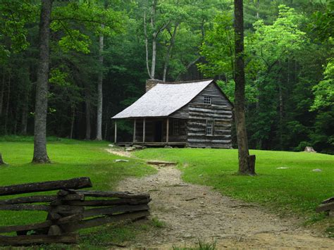 Great Smoky Mountains Cabins Shields Cabin Cades Cove Great Smoky Mountains Na