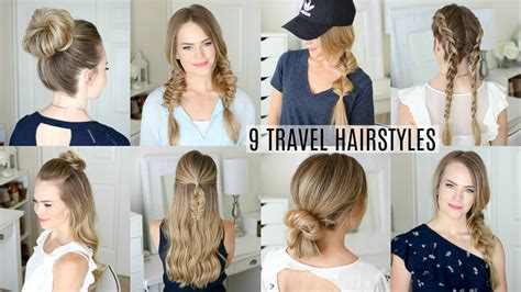 easy vacation hairstyles 9 easy travel hairstyles missy sue