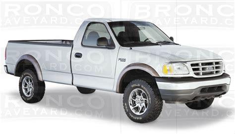 97 Bronco Made Usa For 97 03 F150 98 99 F250 Light Duty Extend A Fender Flares