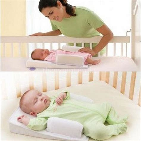 Baby Wedge Side Sleeper by Sleep Fixed Positioner Baby Infant Prevent Flat