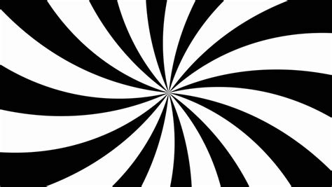radial pattern black and white spinning stripes radial pattern 4k 30fps background