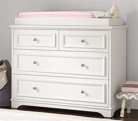 Dresser For Changing Table Fillmore Dresser Changing Table Topper Nursery Other Metro By Pottery Barn