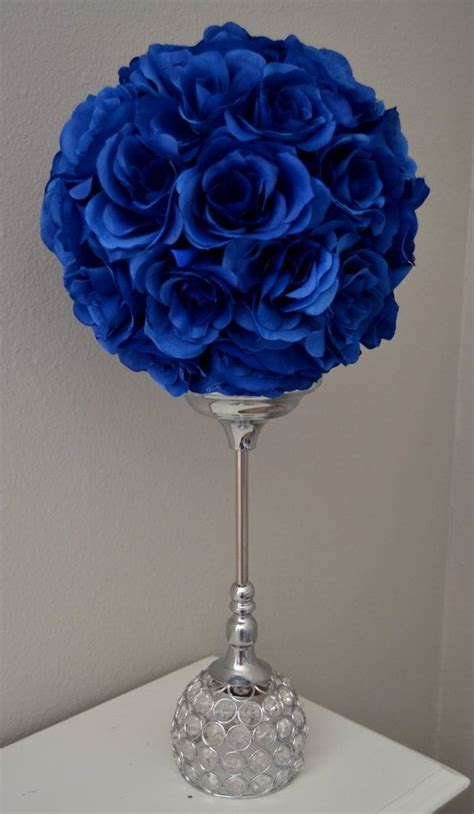 royal blue and gold centerpieces best 25 royal blue