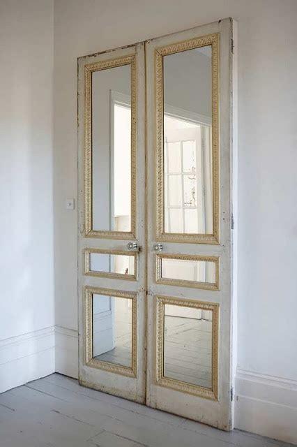 Antique Closet Doors Rydeng S Antique Doors Mirror Mirror