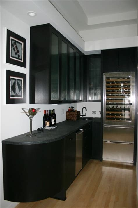 modern wet kitchen design lower level wet bar modern basement other metro by modern design cabinetry