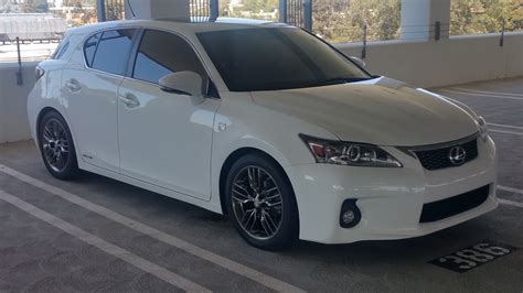 lexus modified modified lexus ct200h f sport one take