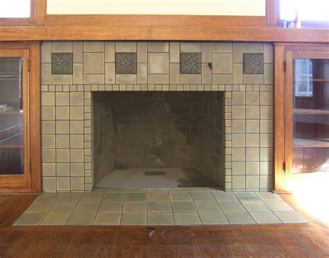 Craftsman Fireplace Tile by Field Tiles By Pasadena Craftsman Tile Deco By Motowi