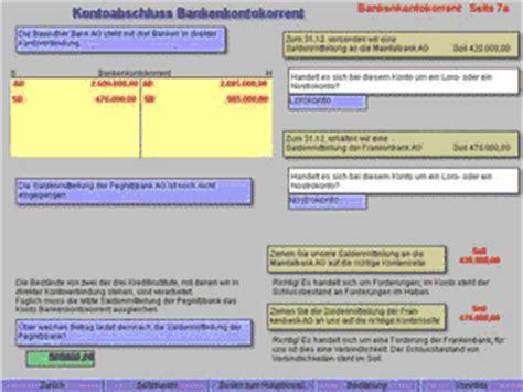 rechnungswesen bank lernprogramme f 252 r sch 252 ler bank rechnungswesen