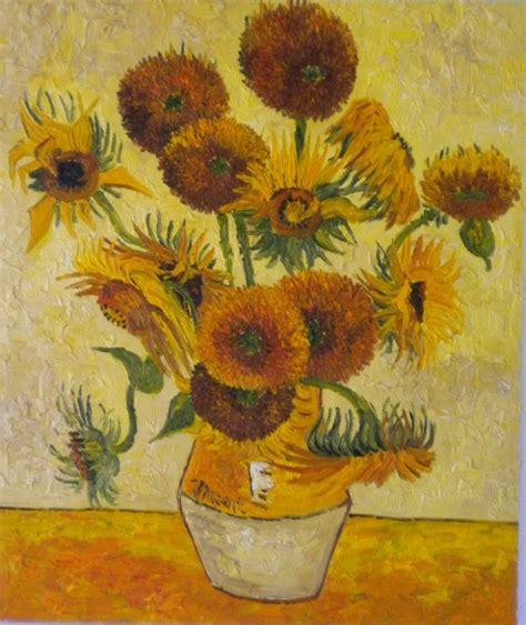 i fiori di gogh girasoli di gogh su gogh museum arte