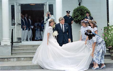 Caroline Kennedy Wedding Gown by Edwin Schlossberg Images Femalecelebrity