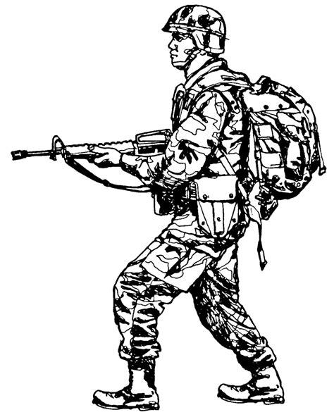 Digitec Army Blackwhite clipart black and white pencil and in color clipart black and white
