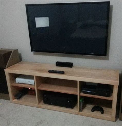 Diy Tv Stand For Bedroom 15 Diy Tv Stands You Can Build Easily In A Weekend Home