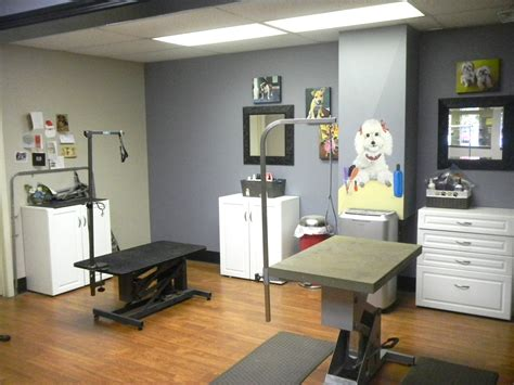 Grooming Room by Shed Happens Canine College