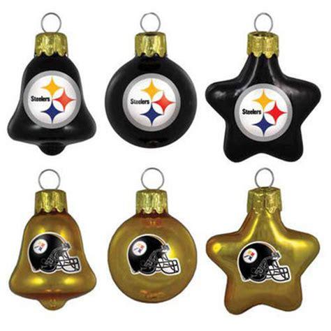 Pittsburgh Steelers Ornaments - pittsburgh steelers 6 pack ornament set nflshop