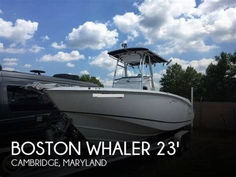 whaler boats for sale in maryland boston whaler 23 boat for sale in cambridge md for