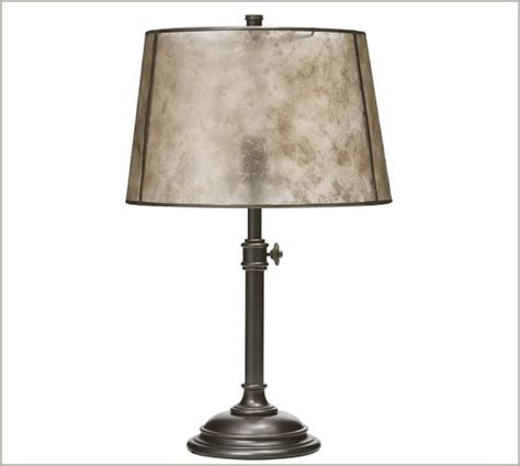 Mica Drum L Shade by Mica Tapered Drum L Shade Pottery Barn
