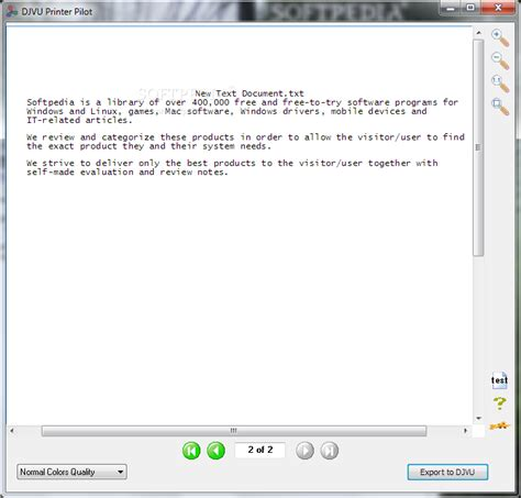 djvu format specification djvu printer pilot download