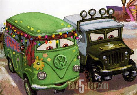 cars sarge and fillmore mattel disney pixar cars christmas cars 2017 take five