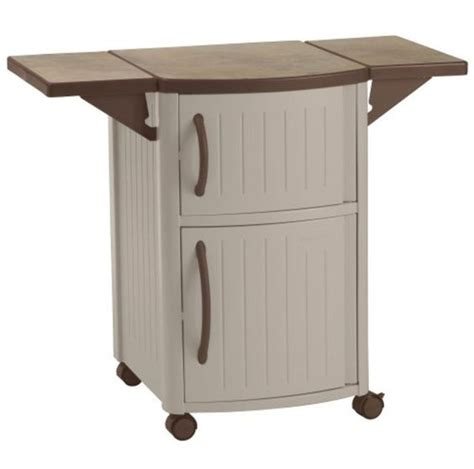 Portable Patio Bar by Outdoor Prep Station Patio Portable Bbq Cabinet Storage