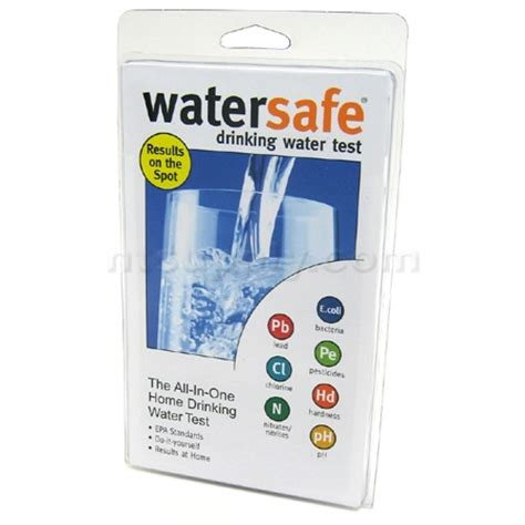 buy watersafe all in one home water test kit