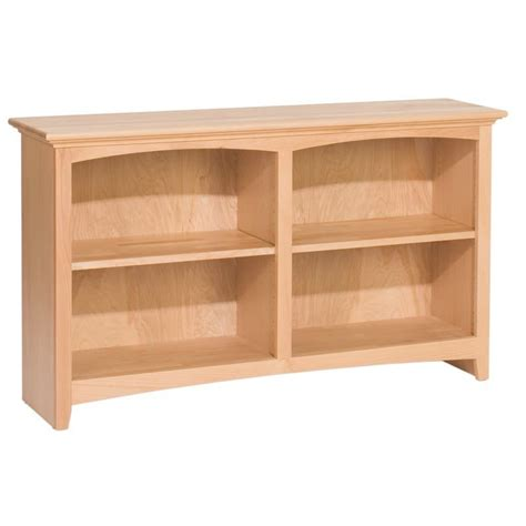 whittier wood bookcase collection 48 quot wide
