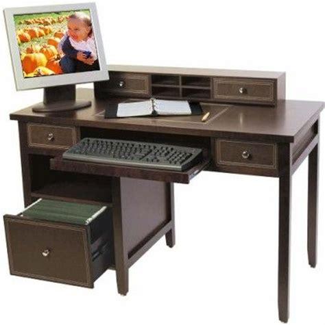 Small Espresso Desk Innovex D0l05ves Model L05 Desk Computer Leather Trim