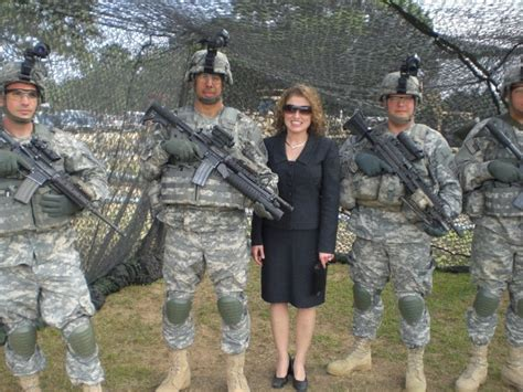 veteran s united loan officer barby wulff visiting troops