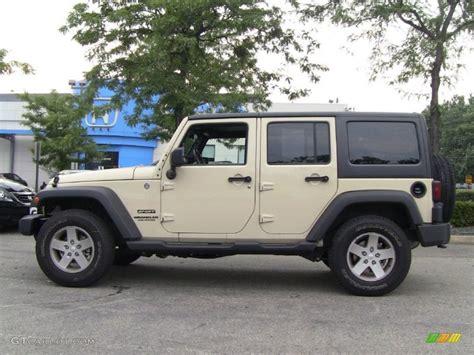 sahara jeep tan sahara tan 2011 jeep wrangler unlimited sport 4x4 exterior
