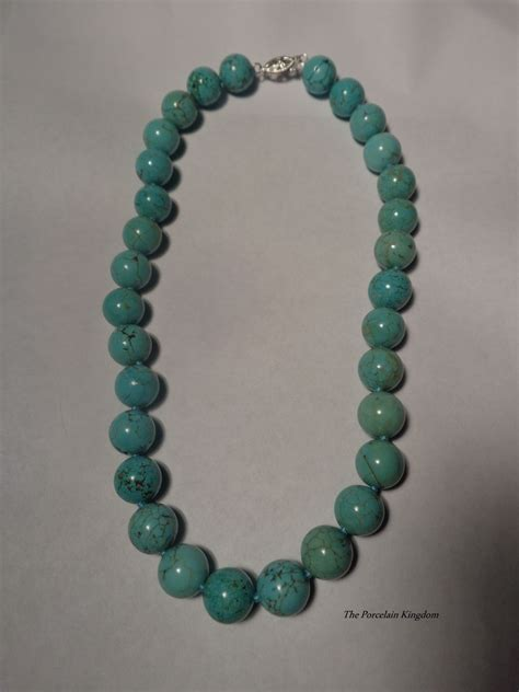 turquoise for jewelry vintage turquoise necklace black lesbiens