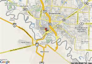 where is brownsville on the map map of best value inn colonial hotel brownsville brownsville