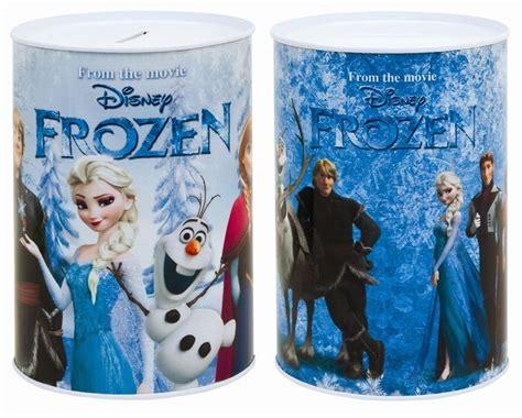 Celengan Frozen Disney Elsa Piggy Bank Money Box Doll Pvc 1 3 pack disney frozen can style money box tin official