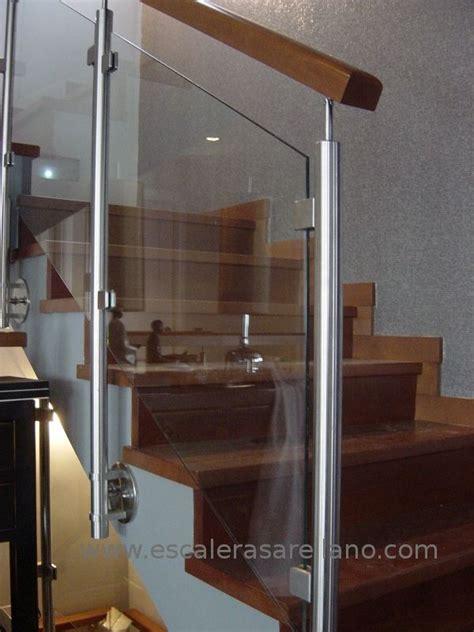 barandilla inoxidable barandilla de madera acero inoxidable y cristal