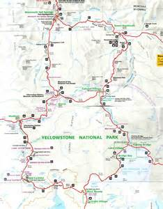 yellowstone park map yellowstone national park part 2 a note from abroad