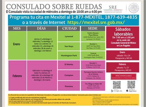 Calendario Consulado Mexicano Sobre Ruedas 2015 Consulado Sobre Ruedas Febrero 2015 T 250 Eres Am 233 Rica
