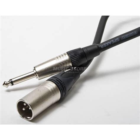 Mohawk Speaker 10mp 6 2 Black cordial peak speaker cable xlr 5m 2x2 5 mm 178
