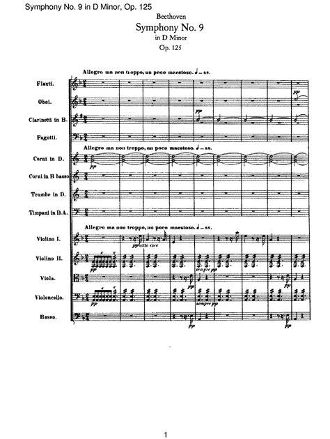 beethoven 9 sinfonia piano beethoven symphony 9 piano sheet pdf symphony no 8