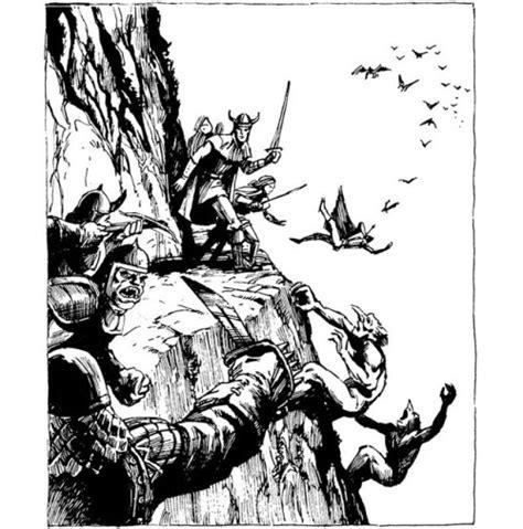 Jeff Easley Greyhawk Adventures Sci by Aerial Encounter