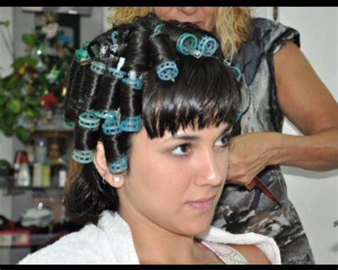 his hair in rollers step のおすすめ画像 82 件 pinterest カーラー パーマ パーマロッド