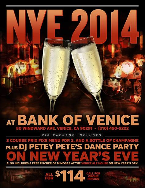 is new year s day a bank new years bank of venice fork in the road yo venice