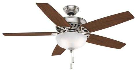 casablanca ceiling fans parts 54 quot brushed nickel chrome ceiling fan concentra gallery