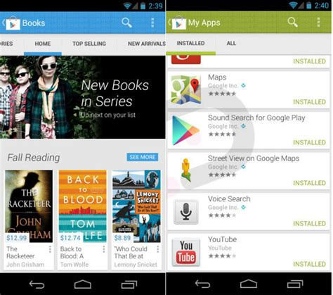 Play Store Like Ui Play V4 0 To Bring Refreshing New Re Designed Ui