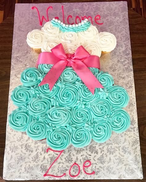 Cupcake Cakes For Baby Shower by Baby Shower Cupcake Cake Homestartx