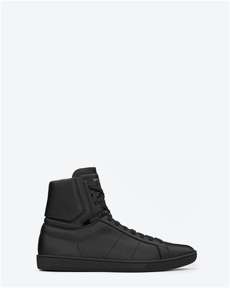 ysl sneaker laurent signature court classic sl 01h high top