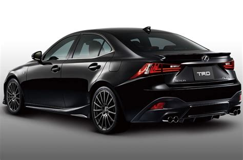 isf lexus trd offers 2014 lexus is f sport upgrade in japan