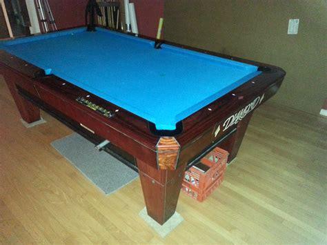 billiards forum 7 diamond smart table 3300 obo dallas tx