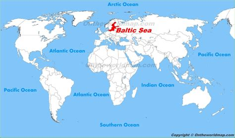 map of baltic sea baltic sea location on the world map