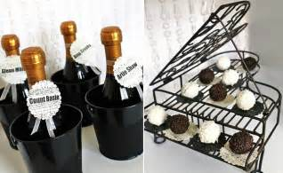 Black And White Themed Party Decorations - ideas for a black amp white party celebrations at home
