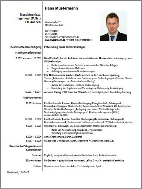 Word Vorlage Curriculum Vitae Cv Beispiel Student Dokument Blogs